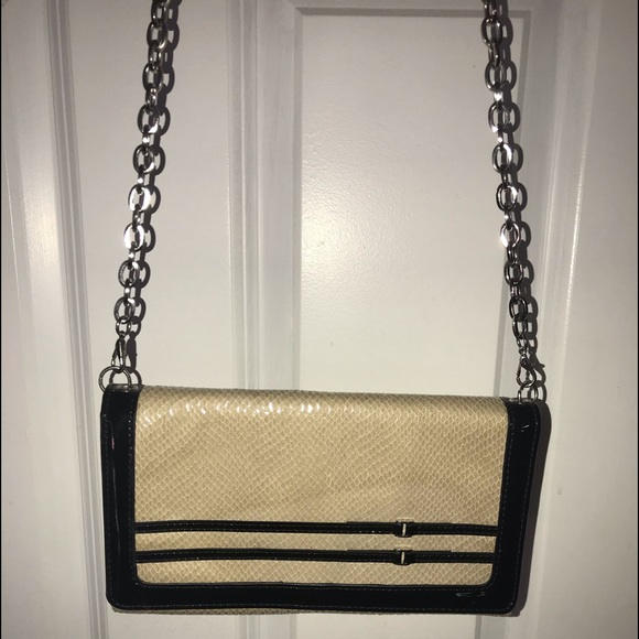 White House Black Market clutch purse.